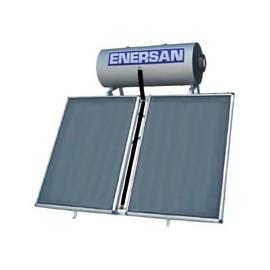 ENERSAN GLASS ECO 200lt ΚΛΕΙΣΤΟΥ ΚΥΚΛΩΜΑΤΟΣ ΜΕ ΔΥΟ ΕΠΙΛΕΚΤΙΚΟΥΣ ΣΥΛΛΕΚΤΕΣ